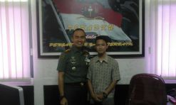 Photo bareng Kol.Inf Andi komandan mentar akmil