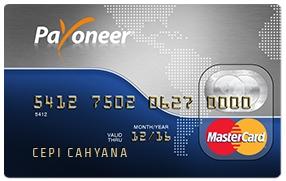 cara daftar kartu debit payoneer