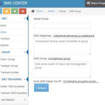 tambah group