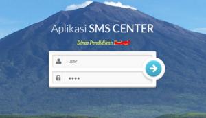 aplikasi sms center