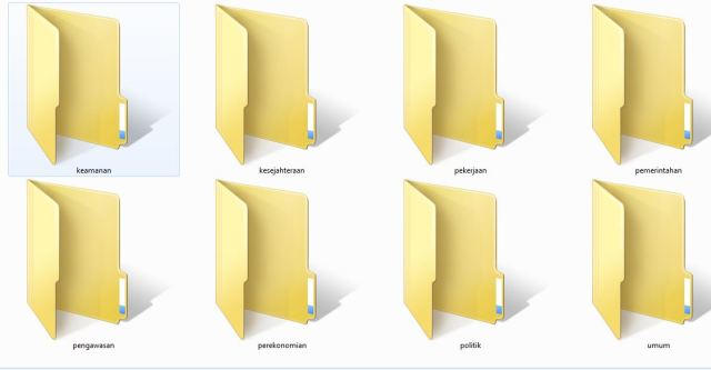 atur file dengan aplikasi