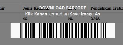 barcode undangan