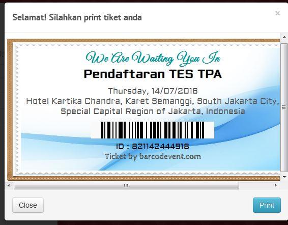 Aplikasi tiket online