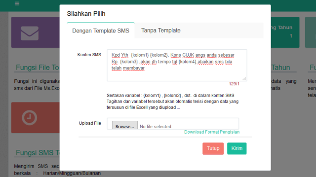aplikasi tagihan sms