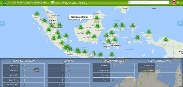 aplikasi peta sekolah