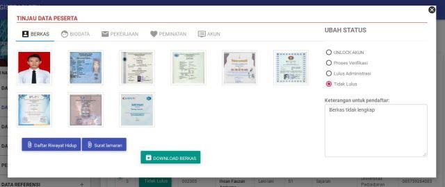 sistem pendaftaran online