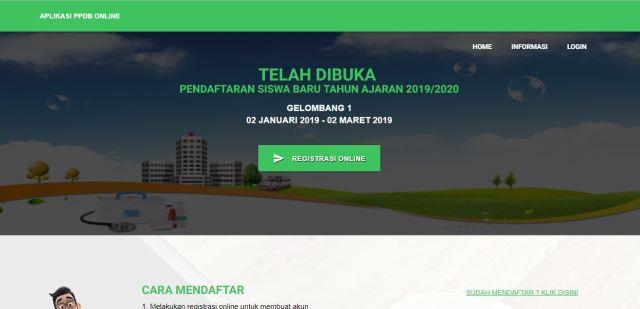 sistem PPDB online gratis